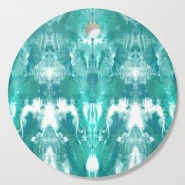 Aqua Blue Lagoon Cutting Board