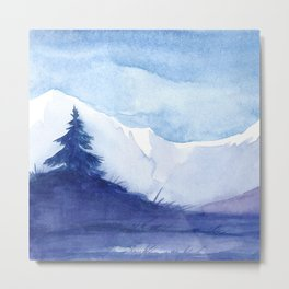 Winter scenery #12 Metal Print