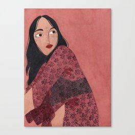 Transparent Kimono Canvas Print
