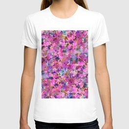 Pink Rainbow Garden T-shirt