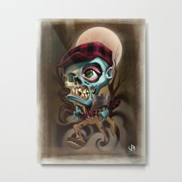 The Lumberjack Metal Print
