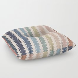 Maude Pattern- Vintage Multicolor Floor Pillow