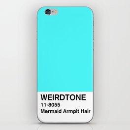 Mermaid Armpit Hair iPhone Skin