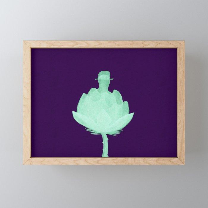 In Bloom Framed Mini Art Print