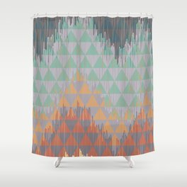 IKAT GEOMETRIE I Shower Curtain