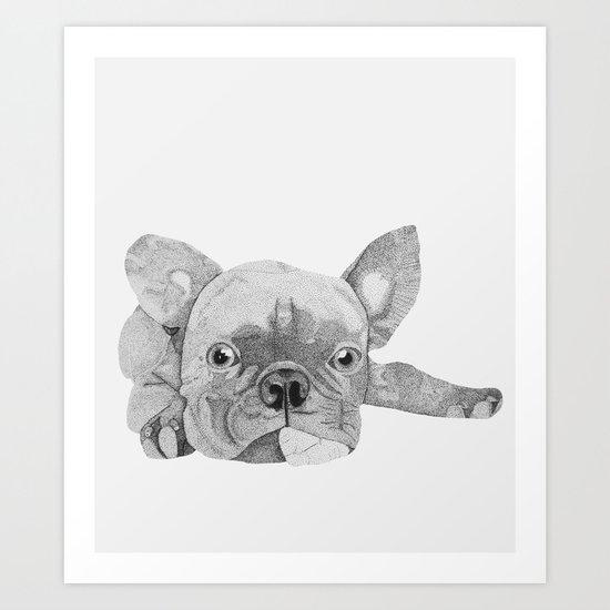 French Bulldog 2 Art Print