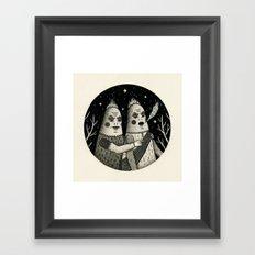 Just an Observation Framed Art Print
