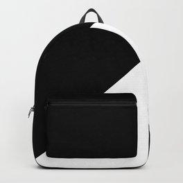 BLACK ON WHITE Backpack