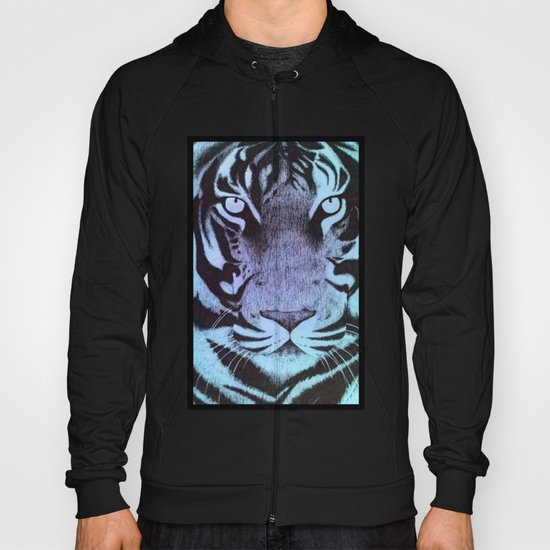 Be a Tiger (Blue) Hoody