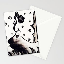 Siren of the sea men Stationery Cards
