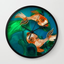 Ada Lake Natives Wall Clock