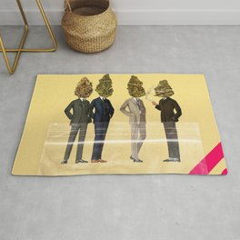 Gentlemen's Smoking Club Rug