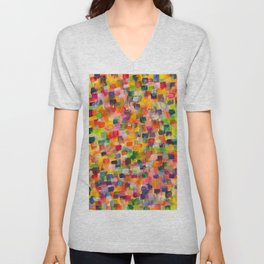 cities at dawn Unisex V-Neck