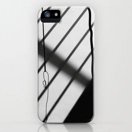 contrast wall iPhone Case