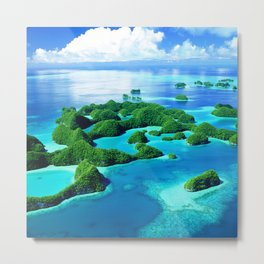 70 Wild Islands Palau Metal Print