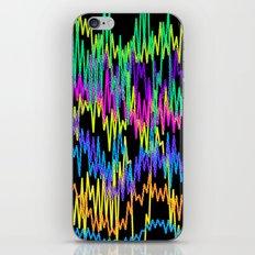 waves1 iPhone & iPod Skin