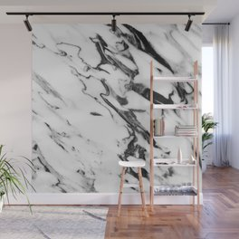 Classic White Marble Glam #2 #marble #decor #art #society6 Wall Mural