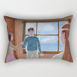 Edmund's lies Rectangular Pillow
