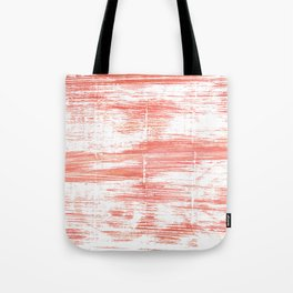 Light salmon pink abstract watercolor Tote Bag