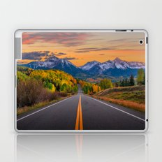 The Road To Telluride Laptop & iPad Skin