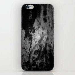 Cloudy Moon iPhone Skin