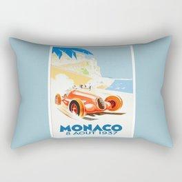 Grand Prix Monaco 1937 Rectangular Pillow