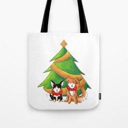Festive Friends Tote Bag