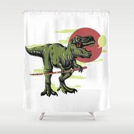 Tyrannosaurus Shower Curtain