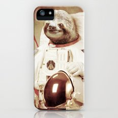 Sloth Astronaut iPhone (5, 5s) Slim Case