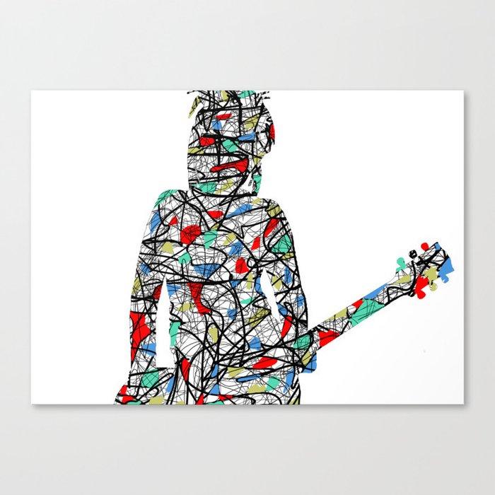 Rock Star 102 Canvas Print