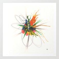Wildflower 1801 Art Print