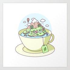 Tea Island Art Print