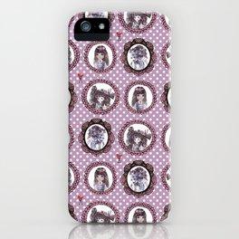 Masquerade cameo girls iPhone Case