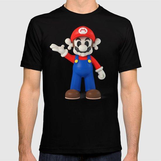 Skull Mario T-shirt
