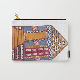 Funky NOLA Shotgun Print Carry-All Pouch