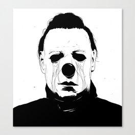 Myers, The Clown Canvas Print