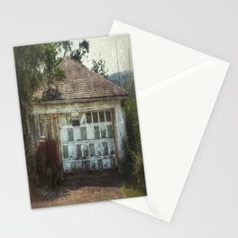 Pap's Garage Stationery Cards