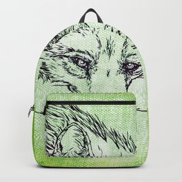 NV: Keer: green Backpack