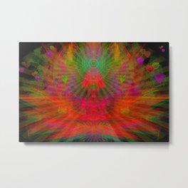 Love Radiation Meditation Metal Print