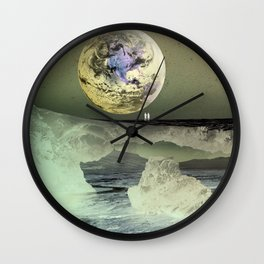 What Will Our Next Planet Look Like? Wall Clock