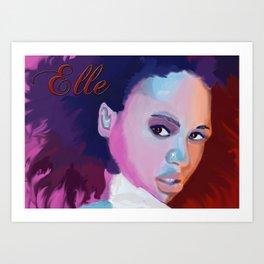 "Elle Varner ""Refill"" Art Print"
