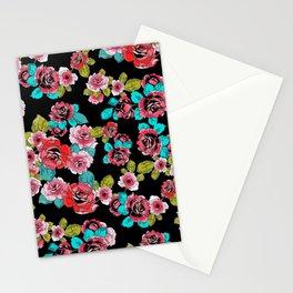 Elegant Roses Stationery Cards