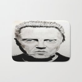 Christopher Walken Bath Mat