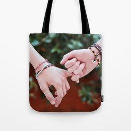 Love Pinky Swear Tote Bag