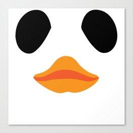 Panda Duck Canvas Print