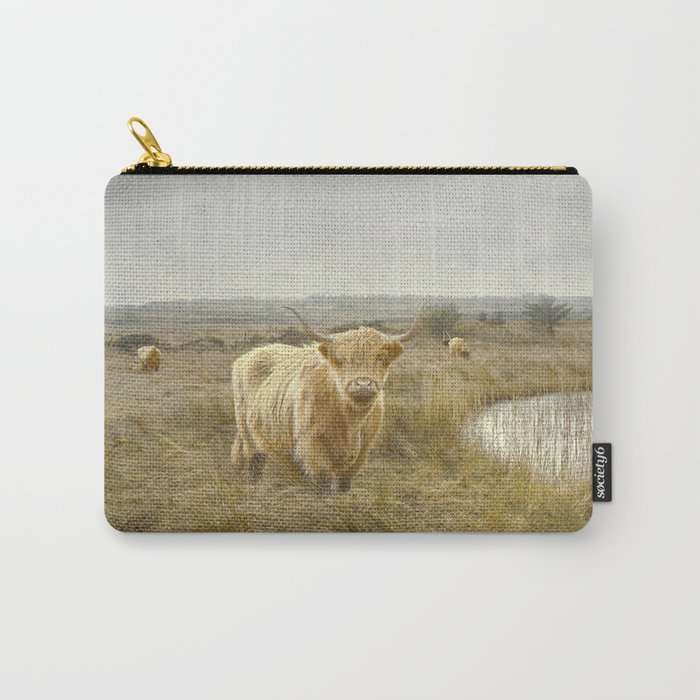Highland Moo's Carry-All Pouch