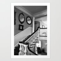 Haunted Hotel Art Print