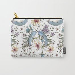 Narwhal pattern Carry-All Pouch