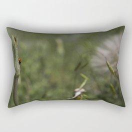 Lucky Lady Bug Rectangular Pillow