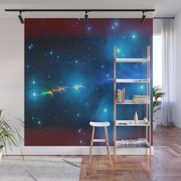 Time wave Zero Wall Mural